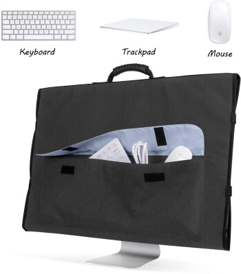 Curmio Travel Carrying Bag for Apple 27 iMac Desktop