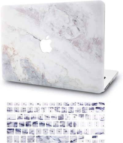 KECC Marble Print Laptop Case