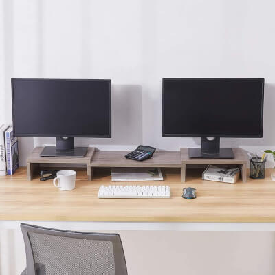 SUPERJARE Multifunctional Desktop Stand Mac