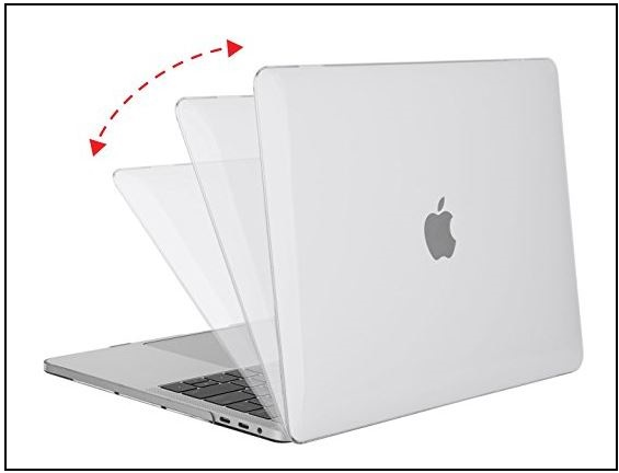 1 Best Macbook pro 13 inch clear and protective case