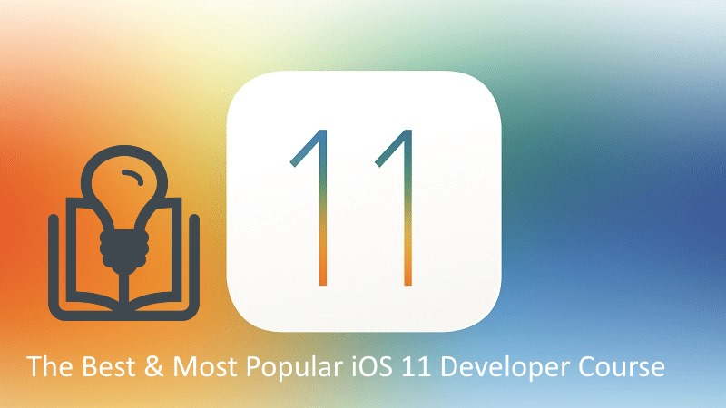 1 Best iOS 11 Developer Course in 2018 for iPhone and iPad