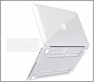 Best Clear MacBook Pro Cases – 13 inch: Transparent shielded protective case