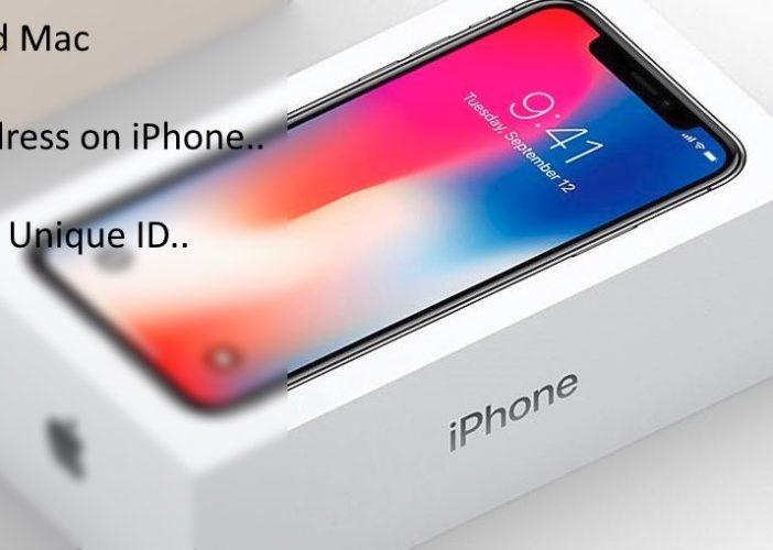 2 Find iPhone Mac Address