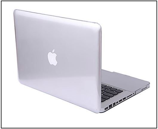 3 Clear Macbook pro case in 13 inch