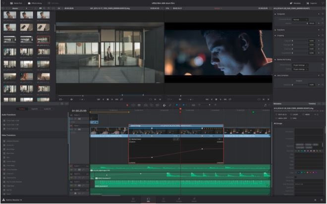 6 DAVINCI RESOLVE video editing for Mac