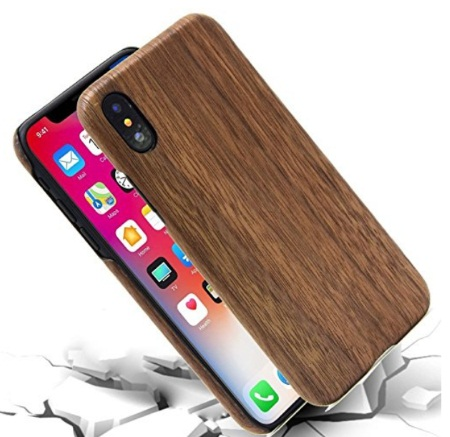 Anyvape iPhone X Wooden Case