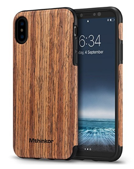 Mthinkor iPhone X Wooden Case