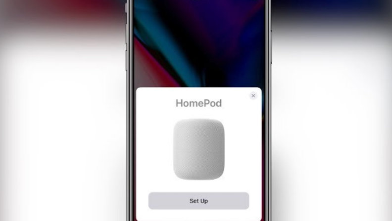 Set up HomePod Using iPhone or iPad