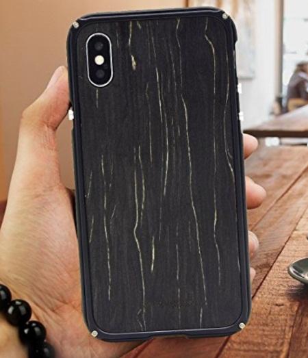 Showkoo iPhone X Wooden Case