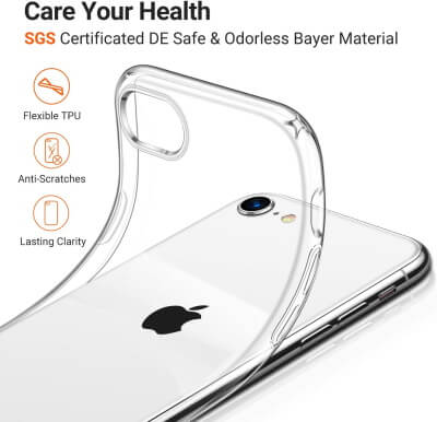 TORRAS Crystal Clear iPhone Case