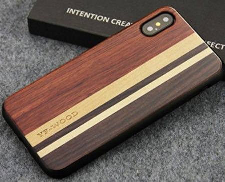 YFWOOD iPhone X wooden Case