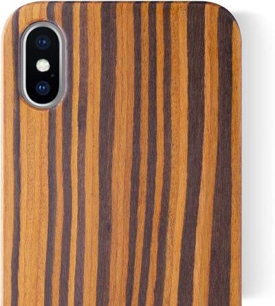 iCASEIT Walnut Color Case iPhone X