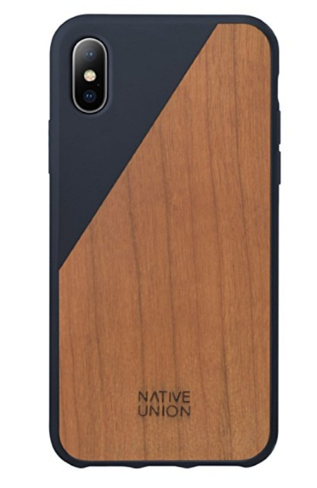 iPhone X Wooden Case by Native Union