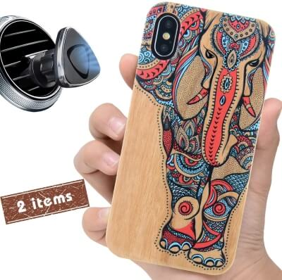 iProductsUS Wooden Case for Girls
