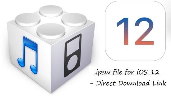 1 Download iOS 12 ipsw file for iPhone featured
