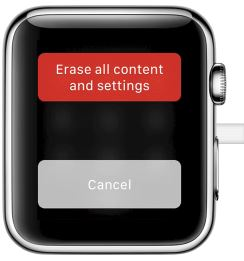 1 Erase All Content and Settings on Apple Watch