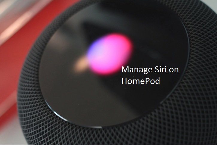 1 Manage Hey Siri on HomePod