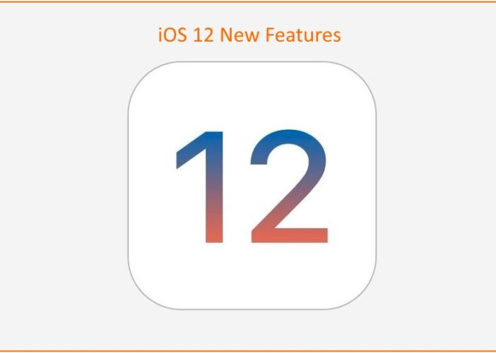 1 iOS 12 features and Rumors