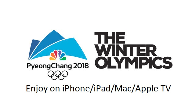 2 Winter Olympics 2018 on iPhone iPad iPod Touch and Mac