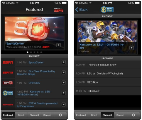 3 WatchESPN app