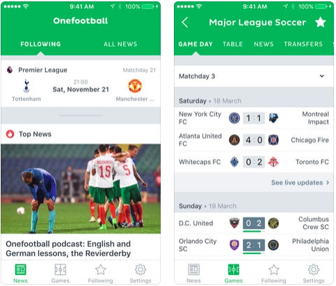4 Onefootball Soccer News