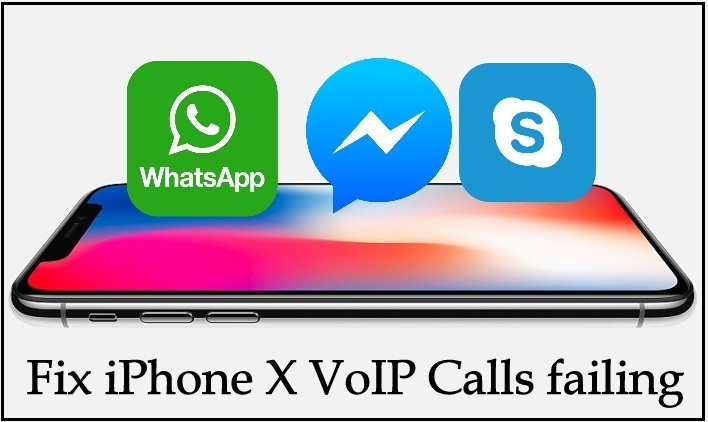 Fix iPhone X VoIP Calls failing problems