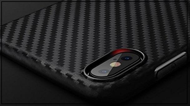 HOCO iPhone X Carbon Fiber thin Case