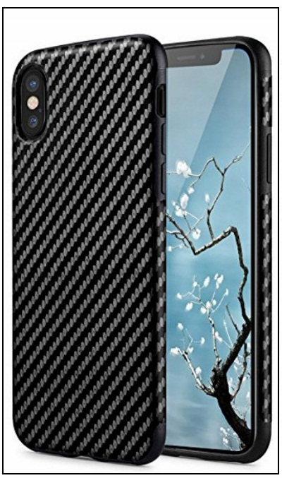 Rock iPhone X Carbon Fiber thin Case