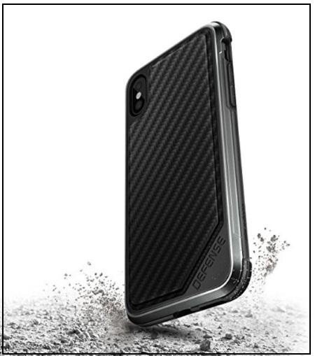 X-Doria iPhone X Carbon Fiber thin Case