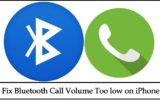Fix Bluetooth Call Volume Too low on iPhone X