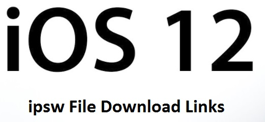 iOS 12 ipsw for iPhone direct download link