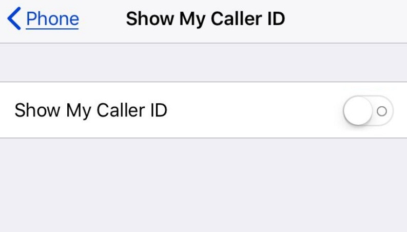 How to call someone private on iphone 8