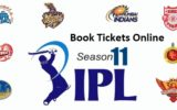 1 IPL Ticket book Season 2018