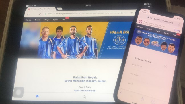 2 Buy IPL 2018 Ticket online