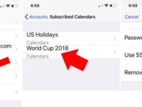 2 Delete Subscribed Calendar on iPhone and ipad