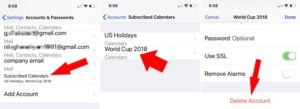 Tip to Unsubscribe and Delete Calendar on iPhone/iPad