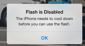 Flash is Disabled on iPhone X or Flash is Disabled on iPhone 8 Plus [Here's Fix]