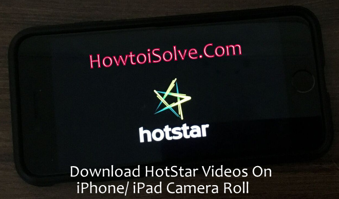 How to Download IPL 2018 Videos highlights from HotStar on iPhone
