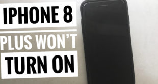 iPhone 8 Plus won't turn on