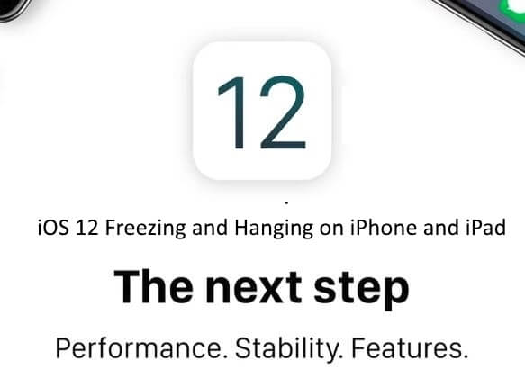 1 Apps Freezing and Hanging and Stuck on iOS 12