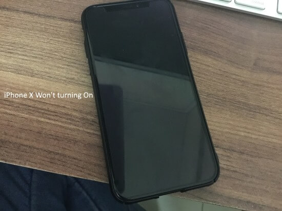 best website 9ee08 212ef iPhone X Screen not Turning on or stay in Blue/Black screen/ White ...