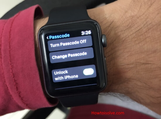 3 Change Apple Watch Passcode
