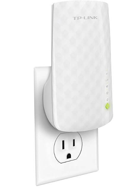 5 TP Link WiFi Extender for WiFi device