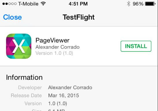 7 Xamarin TestFlight for iOS Emulator