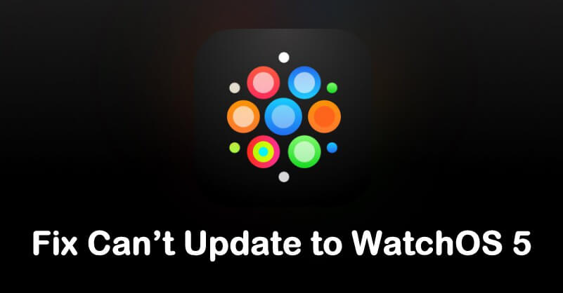 Can't Update to WatchOS 5 here complete solution