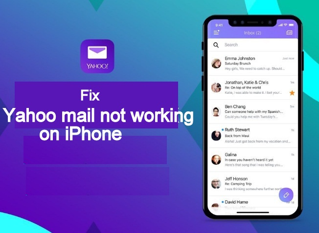 Fix Yahoo mail not working on iPhone iPad