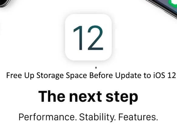 Free Up Storage Space Before Update to iOS 12