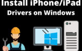 Install iPhone_iPad Driver on Windows PC or Laptop