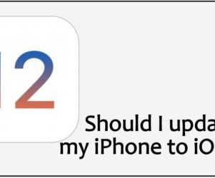 Should I update my iPhone to iOS 12