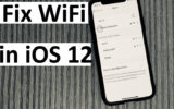 1 Fix iOS 12 WiFi not working on iPhone and iPad
